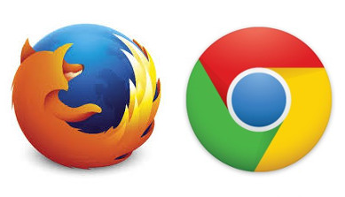 Chrome and Firefox