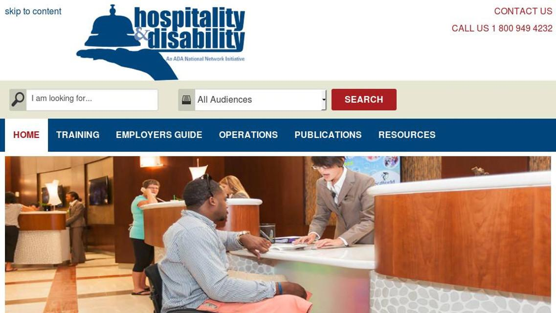 ADA Hospitality Website
