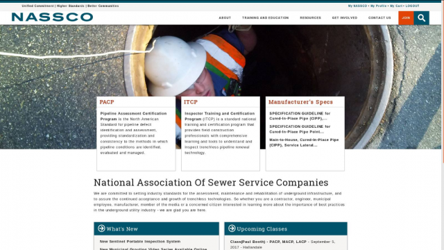 NASSCO's Website